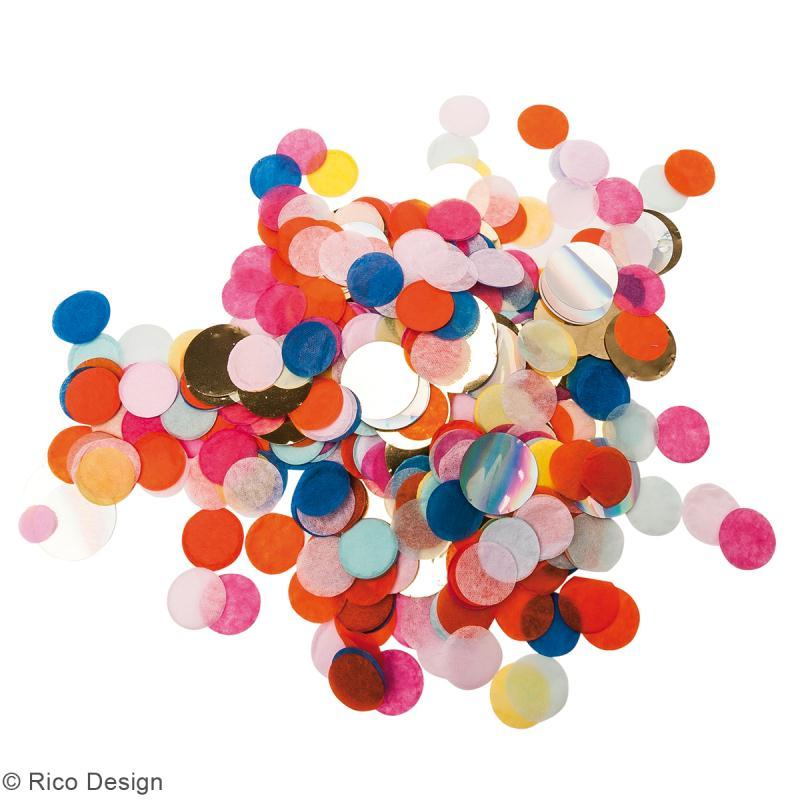 Canon à confettis - Multicolore - Photo n°2