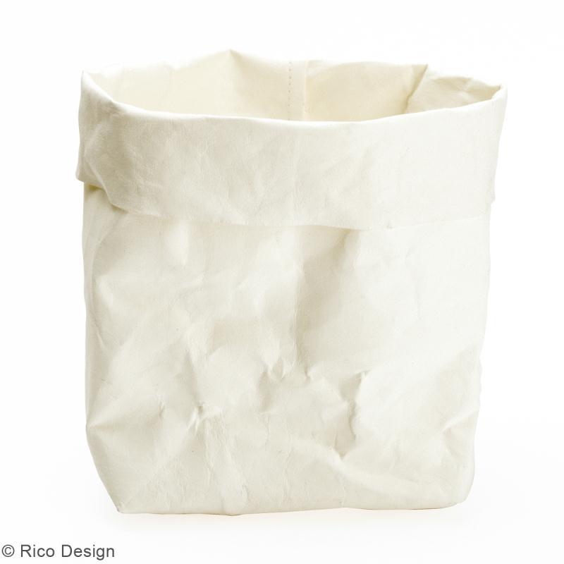 washable paper rico design rouleau de papier lavable blanc 50 x 100 cm papiers sp cifiques. Black Bedroom Furniture Sets. Home Design Ideas