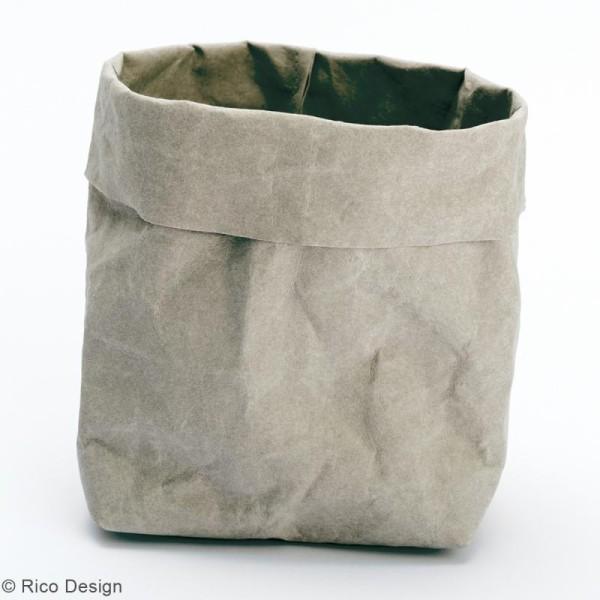 Washable paper Rico design - Rouleau de papier lavable Gris - 50 x 100 cm - Photo n°2