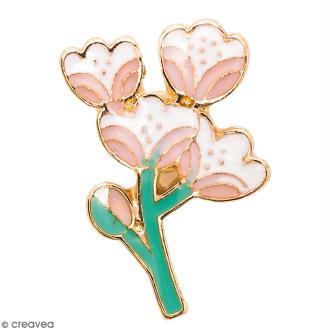 Pin's - Made by me - Fleur de cerisier