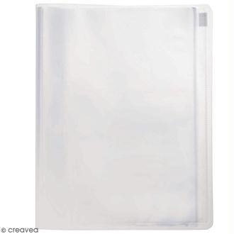 Porte vues personnalisable A4 - Transparent - 30 pochettes