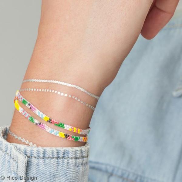 Kit brick stitch - Bracelet Multicolore - Photo n°2