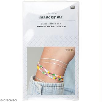 Kit brick stitch - Bracelet Multicolore
