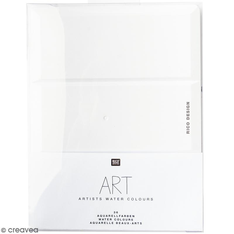 Aquarelle beaux-arts Rico Design - 36 godets - Photo n°1