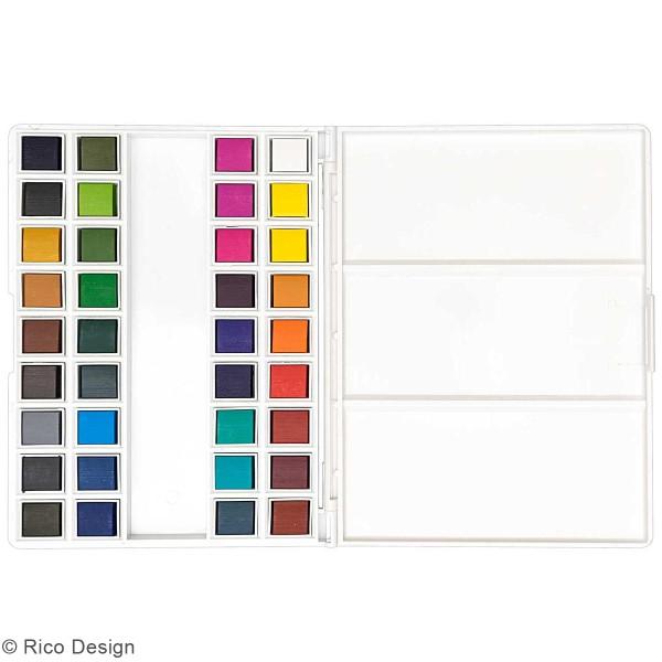 Aquarelle beaux-arts Rico Design - 36 godets - Photo n°2