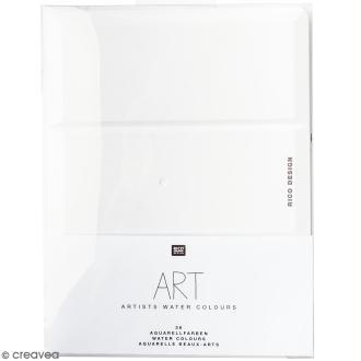 Aquarelle beaux-arts Rico Design - 36 godets