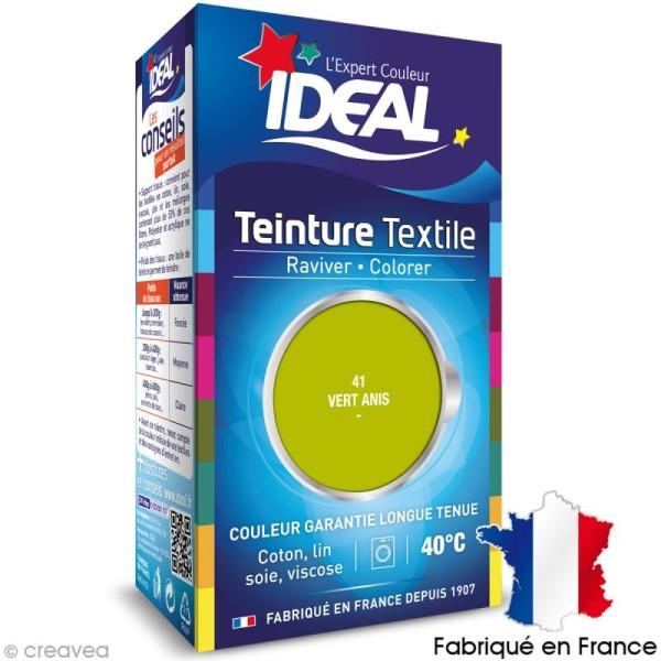 Teinture Tissu Idéal liquide vert anis 41 mini - Photo n°1