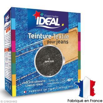Teinture Tissu Idéal liquide jeans noir 27 maxi