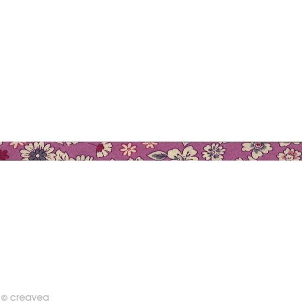 Biais fantaisie Frou-frou n 01 - 10 mm - au mètre (sur mesure) - Photo n°1