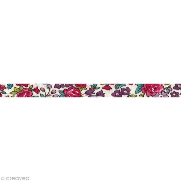 Biais replié Frou-frou 10 mm n°13 au mètre (sur mesure) - Photo n°1