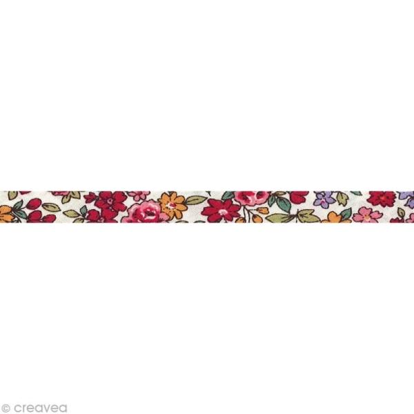 Biais replié Frou-frou 10 mm n°19 au mètre (sur mesure) - Photo n°1