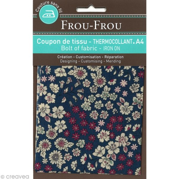 Tissu thermocollant Frou-frou n°07 A4 - Photo n°1