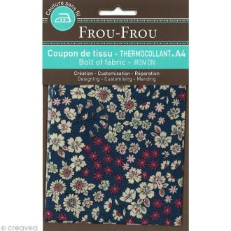 Tissu thermocollant Frou-frou n°07 A4