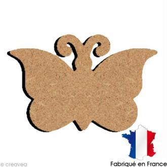 Papillon en bois 15 cm