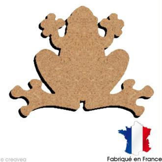 Grenouille en bois 15 cm