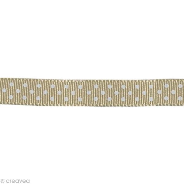 Gros-grain ruban 10mm 12 x 1M noël rouge /& blanc haute qualité