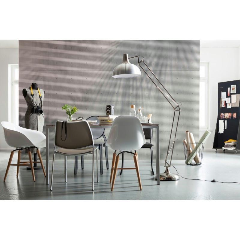 Papier peint ombres 248 x 368 cm papier imitation pierre - Papier peint cuisine moderne ...