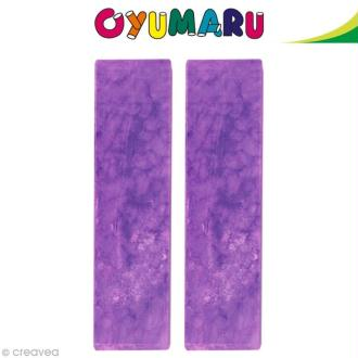 Pâte Oyumaru Violet x 2 bâtonnets
