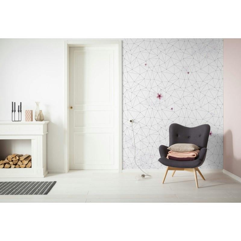 Papier peint cherry blossom 250 x 200 cm papier - Papier peint cuisine moderne ...
