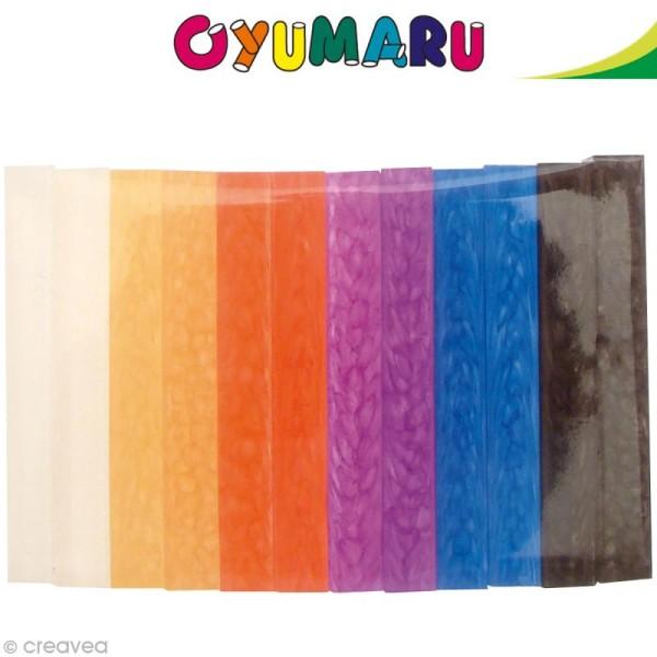 Pâte Oyumaru assortiment n°2 x 12 bâtonnets - Photo n°1