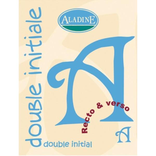 Cachet double initiale A 2 cm - Photo n°1