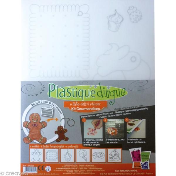 Kit plastique fou - Gourmandises - Photo n°1