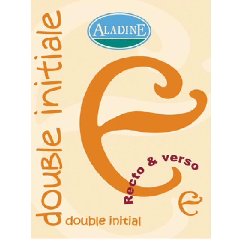 Cachet double initiale E 2 cm - Photo n°1