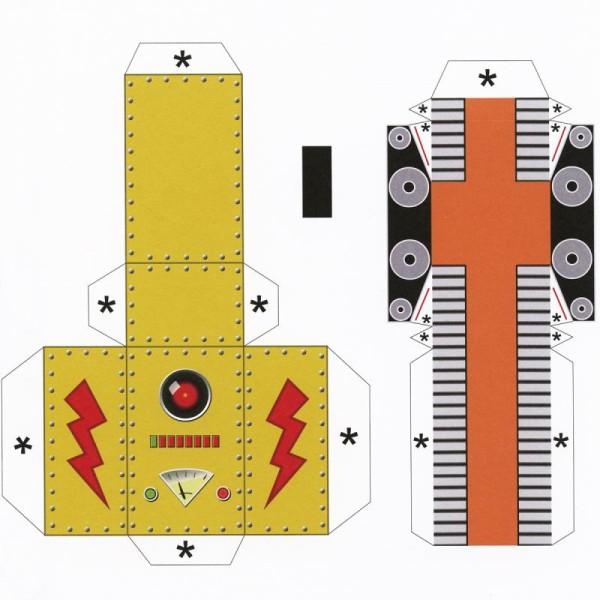 Livre Robots 20 maquettes - Patrick Pasques - Photo n°5