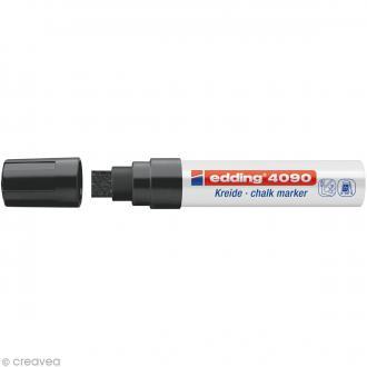 Marqueur craie Edding 4090 Noir 4-15 mm