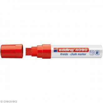 Marqueur craie Edding 4090 Rouge 4-15 mm
