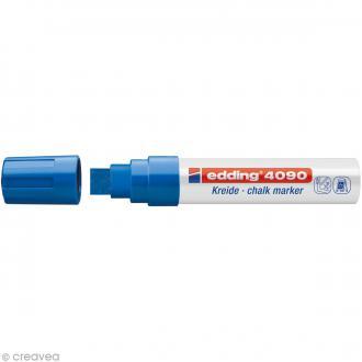 Marqueur craie Edding 4090 Bleu 4-15 mm