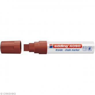 Marqueur craie Edding 4090 Marron 4-15 mm