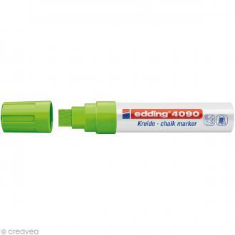 Marqueur craie Edding 4090 Vert Clair 4-15 mm