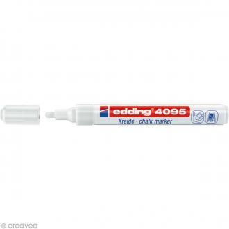 Marqueur craie Edding 4095 Blanc 2-3 mm