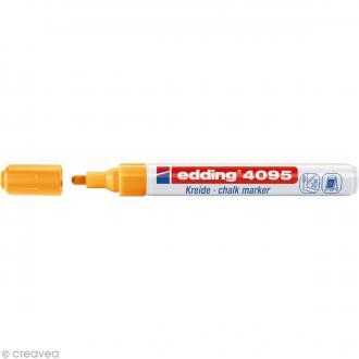 Marqueur craie Edding 4095 Orange fluo 2-3 mm
