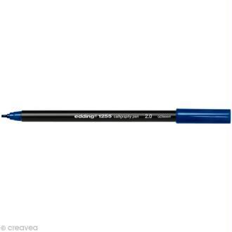 Feutre calligraphie Edding 1255 2.0 Bleu acier