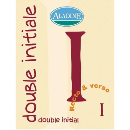 Cachet double initiale I 2 cm - Photo n°1