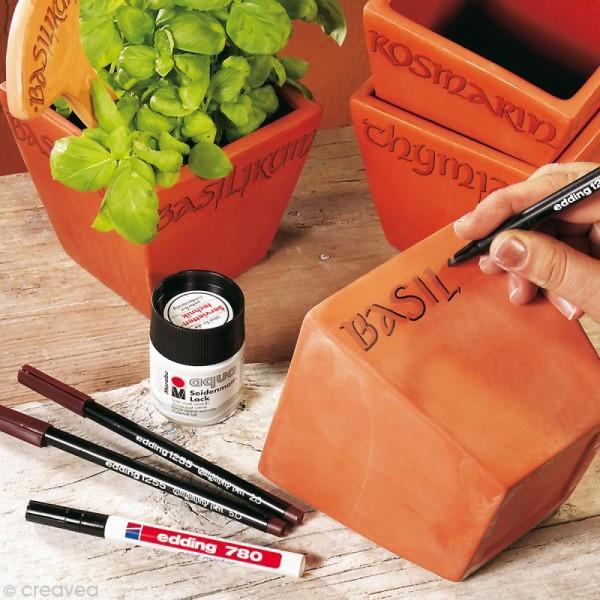 Feutre calligraphie Edding 1255 2.0 Rouge cramoisi - Photo n°3