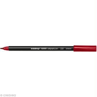 Feutre calligraphie Edding 1255 2.0 Rouge cramoisi