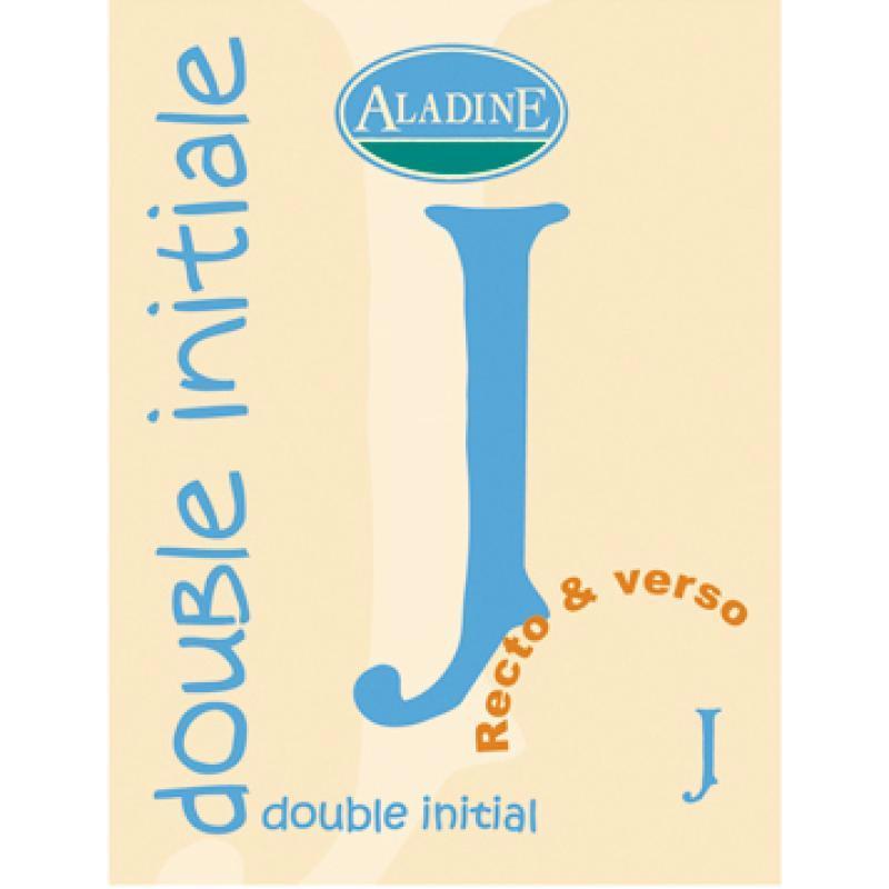 Cachet double initiale J 2 cm - Photo n°1