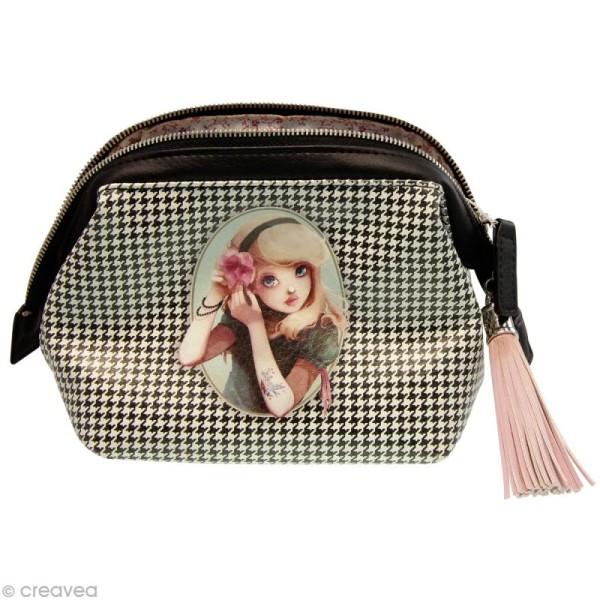 Trousse à maquillage Miss Modeline - Alice 25 x 17 cm - Photo n°1