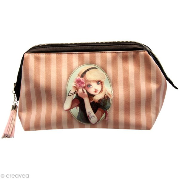Trousse de toilette Miss Modeline - Alice 20 x 13 - Photo n°1