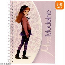 Carnet de stylisme A6 - Miss Modeline - Capucine