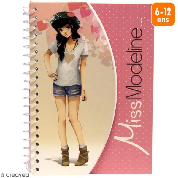 Carnet de stylisme A6 - Miss Modeline - Perrine - Photo n°1