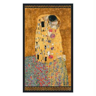 Panneau de tissu Le Baiser Gustav Klimt