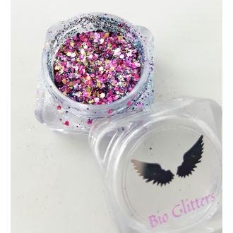 Bio Glitter Mix Licorne paillettes cosmétique biodégradables