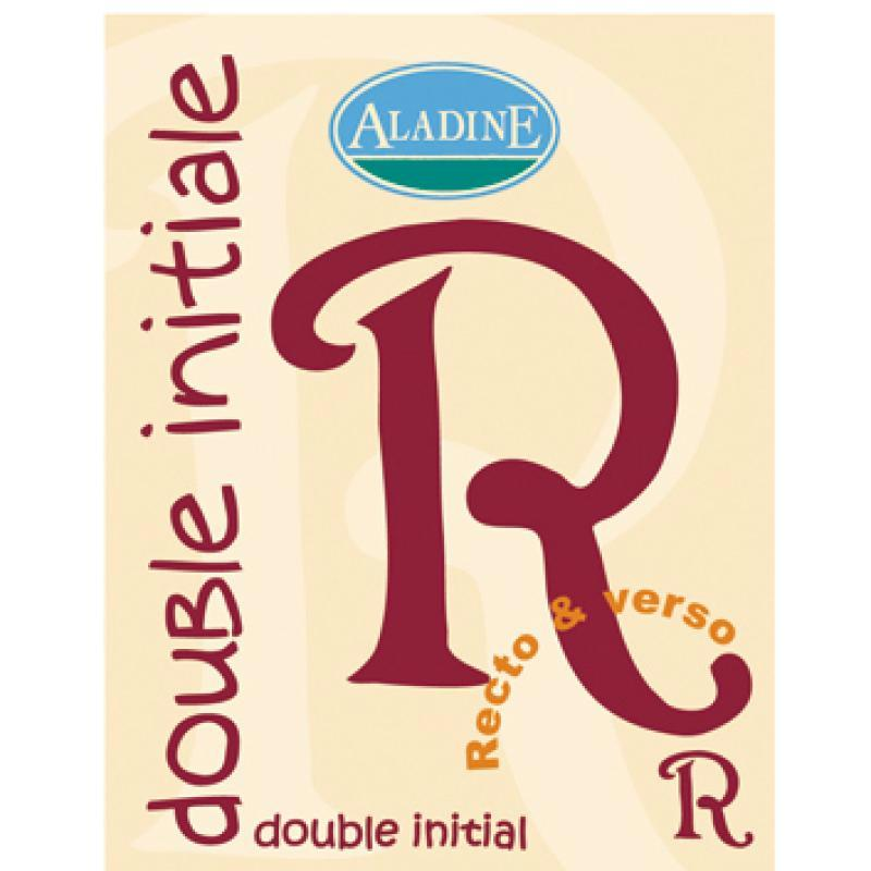 Cachet double initiale R 2 cm - Photo n°1