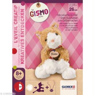 Kit peluche Chat Gismo - 26 cm