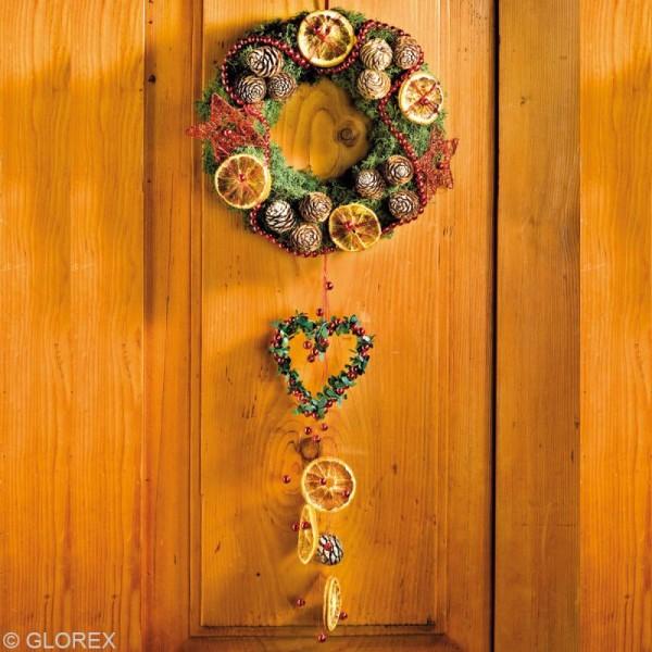 Perles de décoration Rouge 10 mm - env 140 pcs - Photo n°5