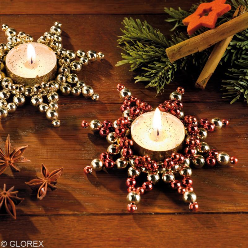 Perles de d coration blanc perl 6 mm env 650 pcs for Perle decoration